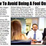 Press cutting - April fool
